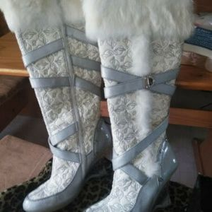 baby phat boots size womans 10
